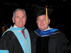 Grady Bogue Keith Carver graduation