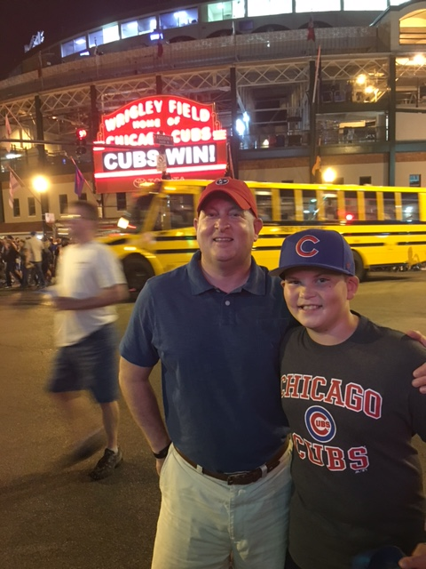 Dad and B Chicago 2016